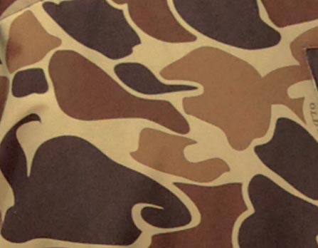 Camouflage canvas