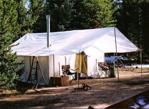 Tent at the campsite