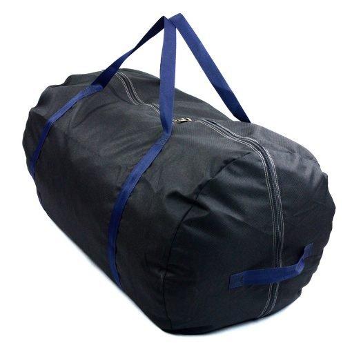 Black tent bag