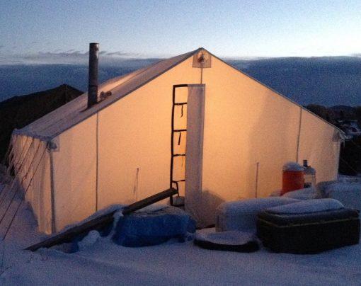 Tent with Colorado Door