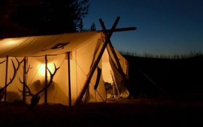 Standard Features on all Davis Wall Tents
