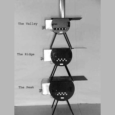 Summit Series Wood Burning Camp Stove