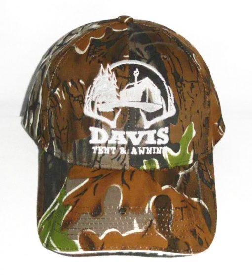 Camouflage Davis Tent hat