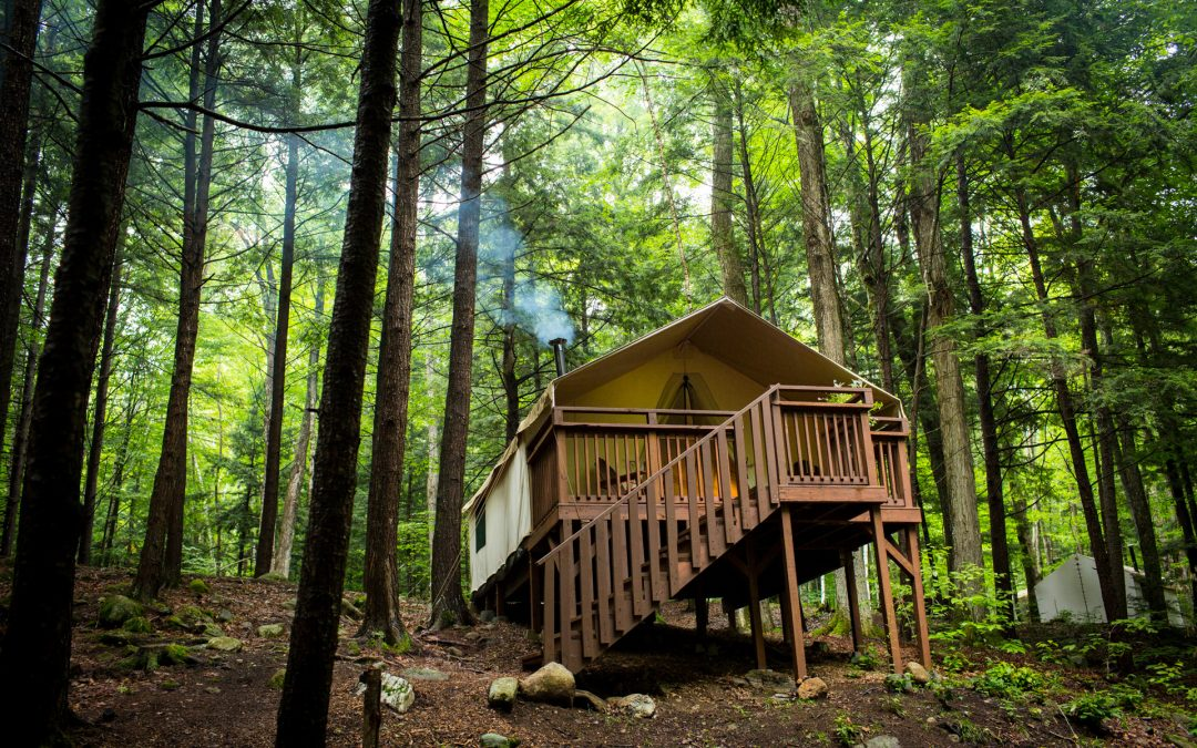 Deck Tents, from Hunt Camping to Glamping