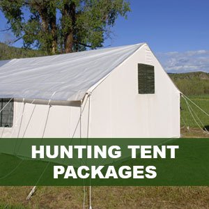 Hunting Tent Packages