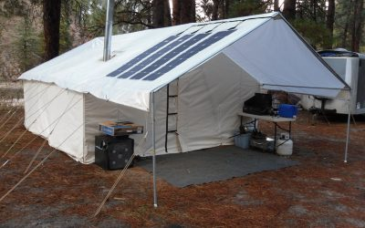 Canvas Wall Tents for Eco Tourism and Glamping