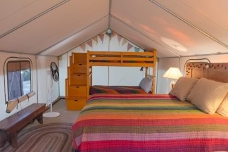Bed in Tent