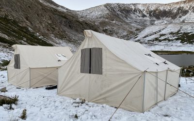 Repairing your Canvass Tent