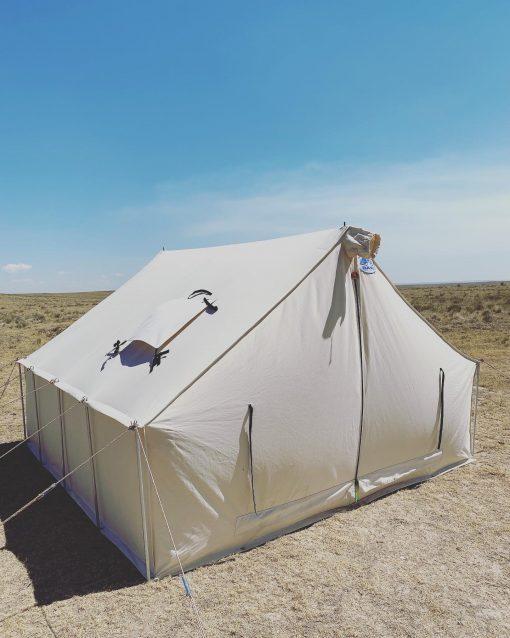 Tent is desert